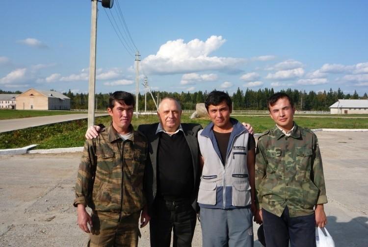 земляки Виталия Ветрова из Центральной Азии