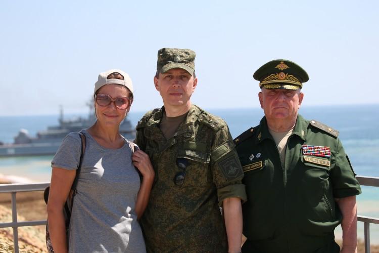 на учениях Кавказ 2016