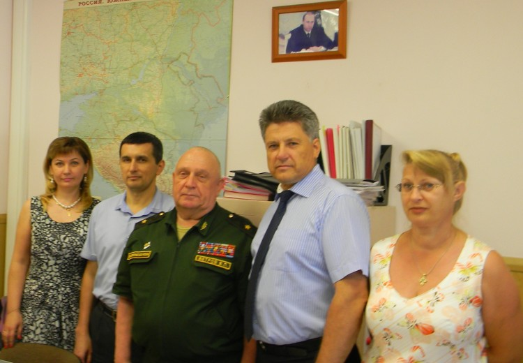 генерал-майор В.П.Ветров в управлениии ВСС ВВО
