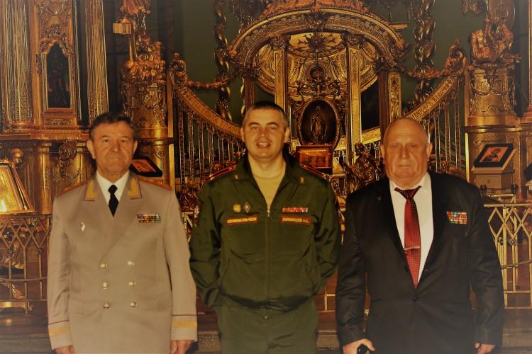 в усыпальнице российских царей