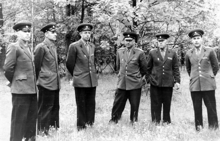 офицеры ЦВС, 60 годов прошлого ве