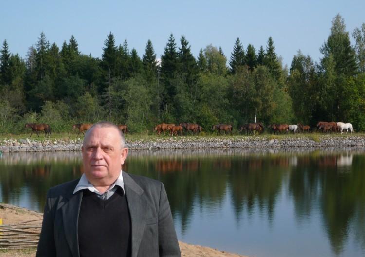 генерал-майор ветеринарной службы запаса В.П. Ветров