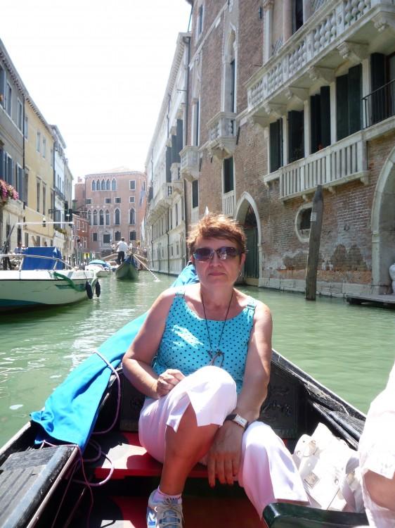 Галина в Венеции