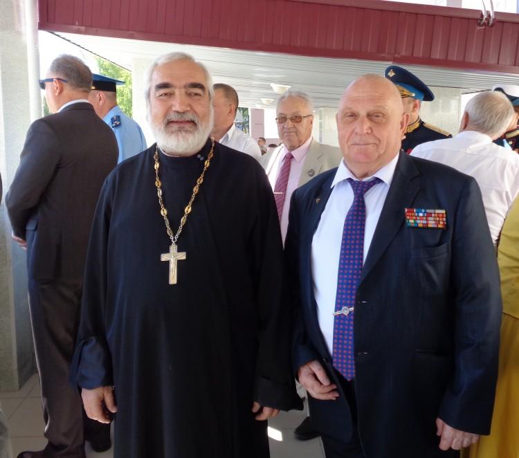 с духовным наставником отцом Михаиломн