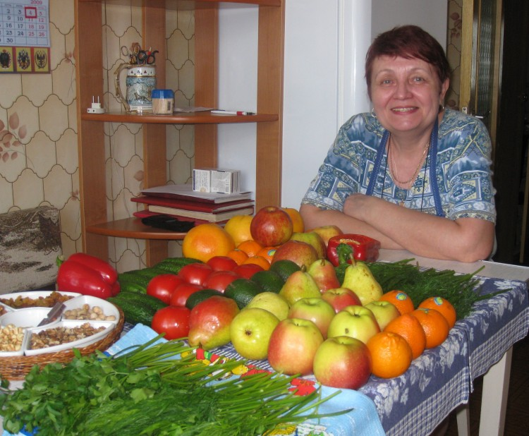 Галина в гостях