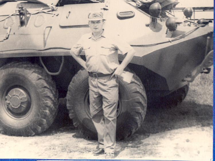 Виталий Ветров. полигон Алькисар Куба