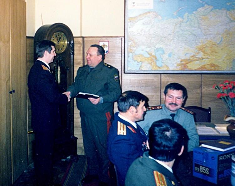 в управлении Военной ветеринарии РФ