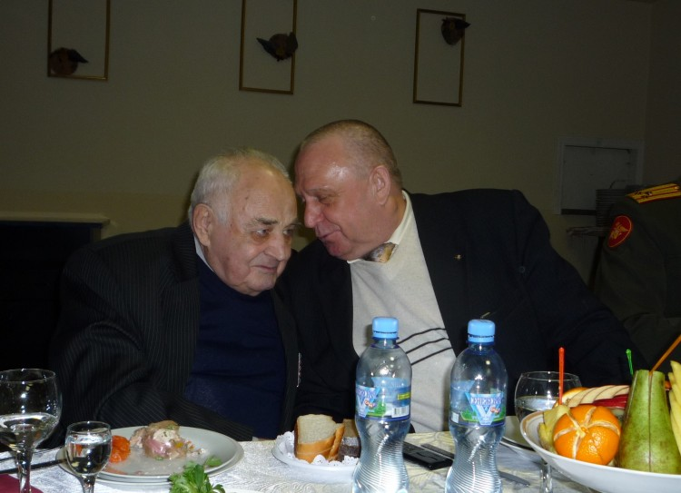 встреча с военным ветеринарным ученым Г.Н.Коржевенко.