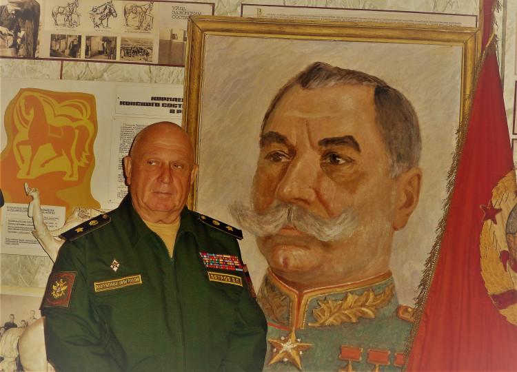 в музее Военно-ветеринарного института. В.П.Ветров. генерал-майор ветеринарной службы запаса