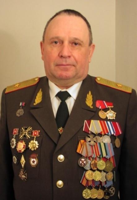 В.П.Ветров. генерал-майор ветеринарной службы запаса