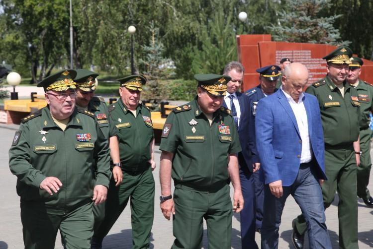 генерал Виталий Ветров в Омском военном институте