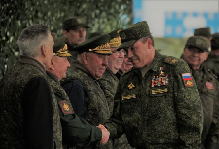 ветераны на встрече с НГШ