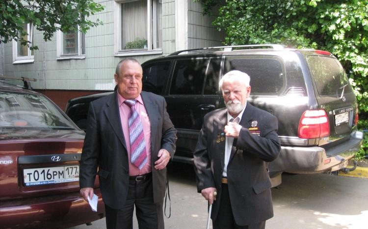 Виталий Ветров с учителем и наставником  Н.Ф.Шуклиным