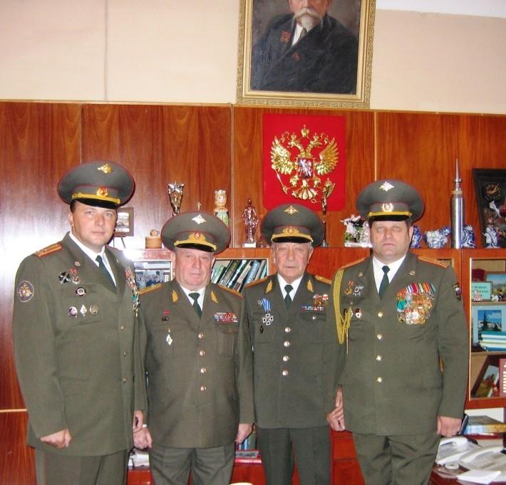 члены ученого совета Военно-ветеринарного института МО