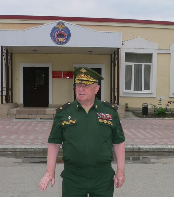Виталий Ветров в воинской части