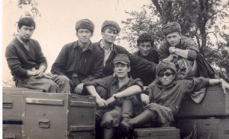 ветеринарный отряд милиции ОСНаз Казахстан