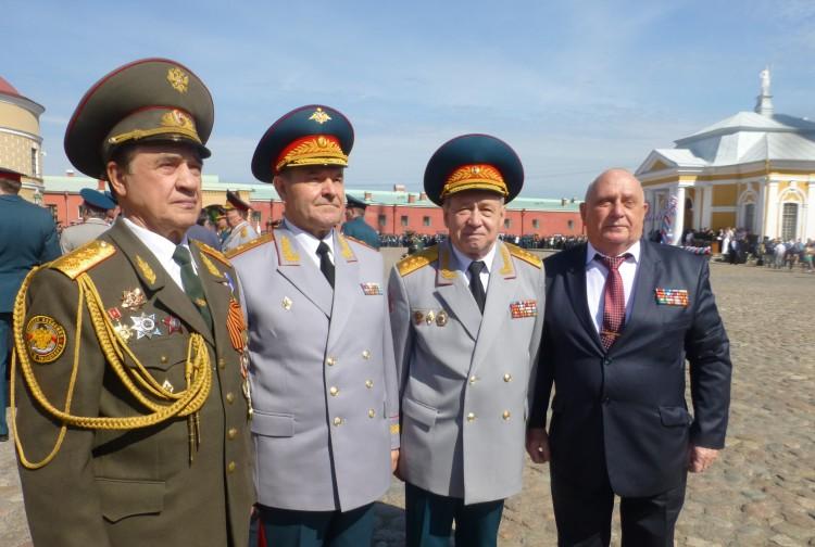 Встреча в Петропавловской крепости