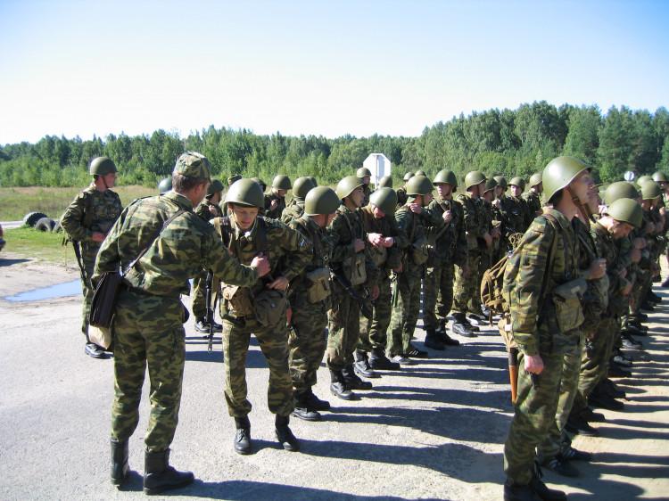 Курсанты Военно ветеринарного института