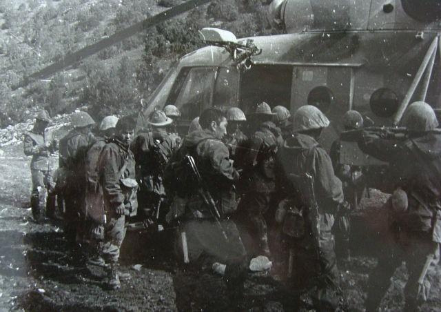 отдельная вьючно-транспортная рота СаВО. погрузка в вертолет