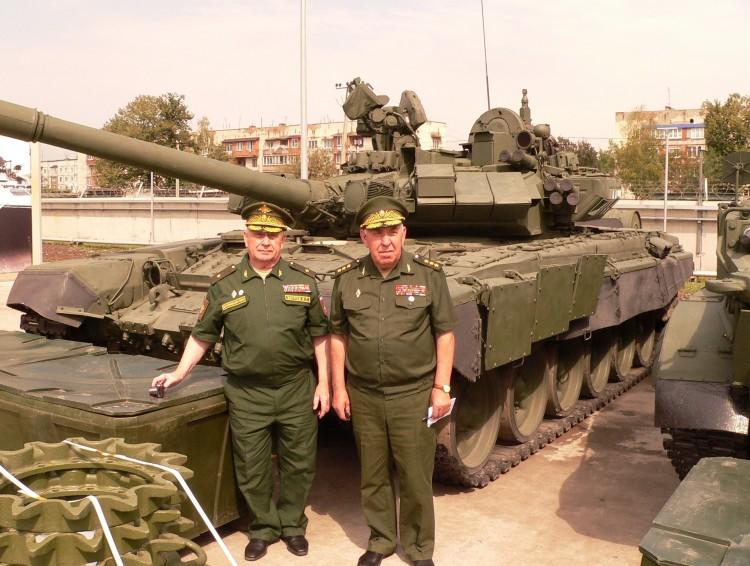 генерал-майор В.П.Ветров, генерал-полковник С.А. Маев. северный Кавказ 2016