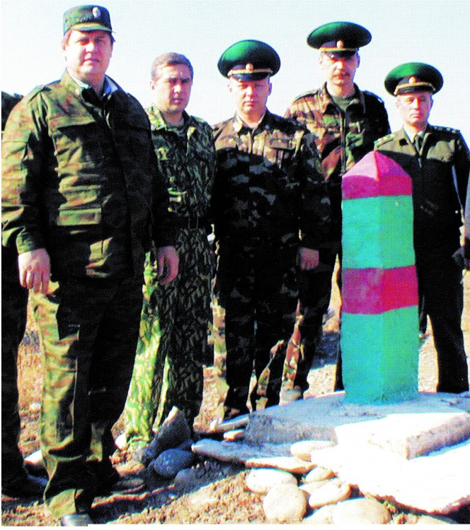 Граница, зона ответственности ПГ в Таджикистане
