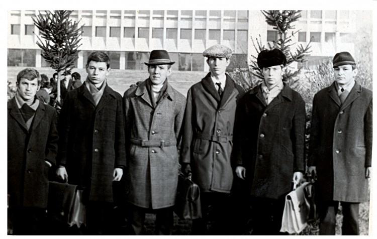 6 взвод курсантов АЗВИ 1973г.