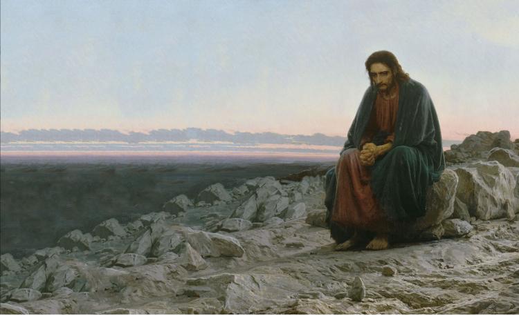 СИМУЛЬТАННЫЙ ХУДОЖЕСТВЕННЫЙ ОБРАЗ «ОДИНОЧЕСТВО ХРИСТА»