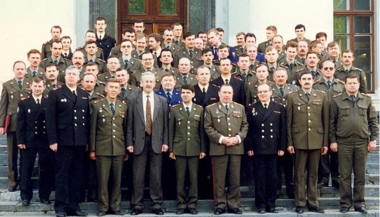 Военно-ветеринарный факультет при МВА им. К.И. Скрябина 1989год.