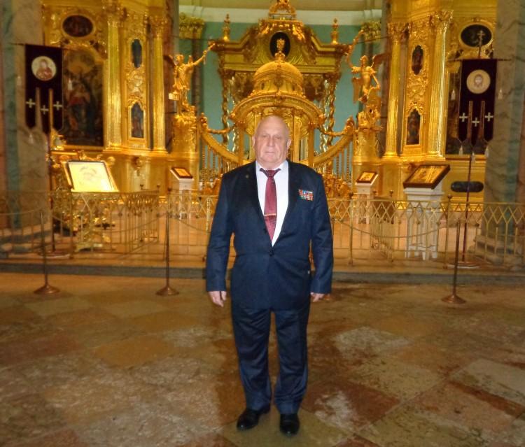 в усыпальнице Русских царей