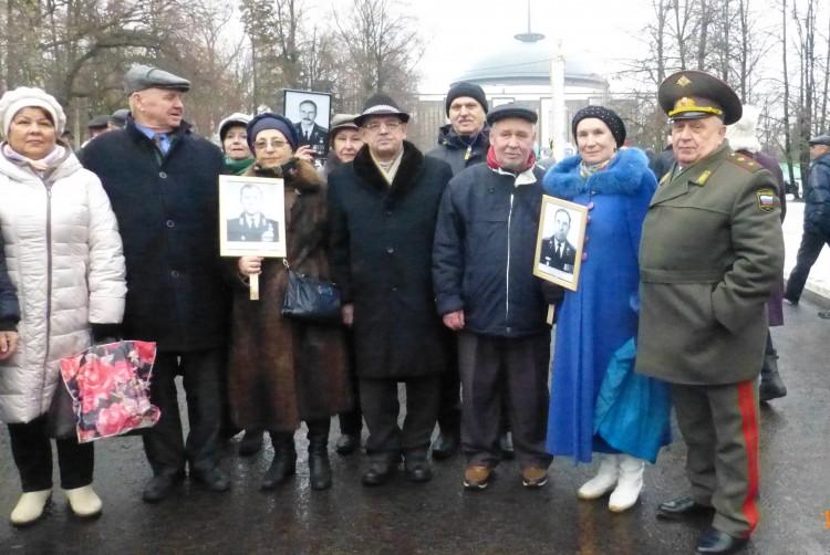 Чернобыльцы ЗАО г. Москвы