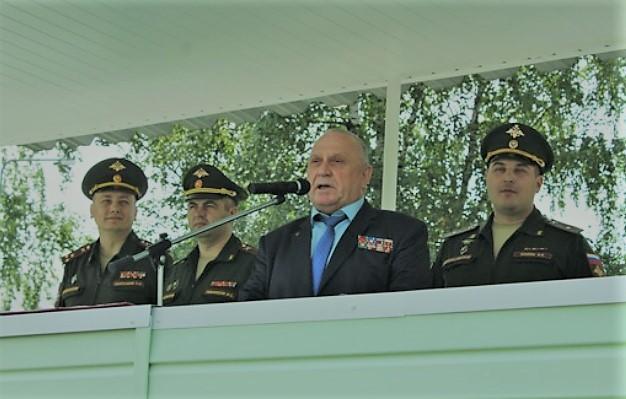 выступление генерала в.П.Ветрова