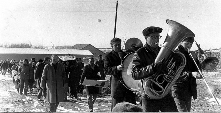 похороны Ветрова Петра Тихоновича 21.02 1979г.