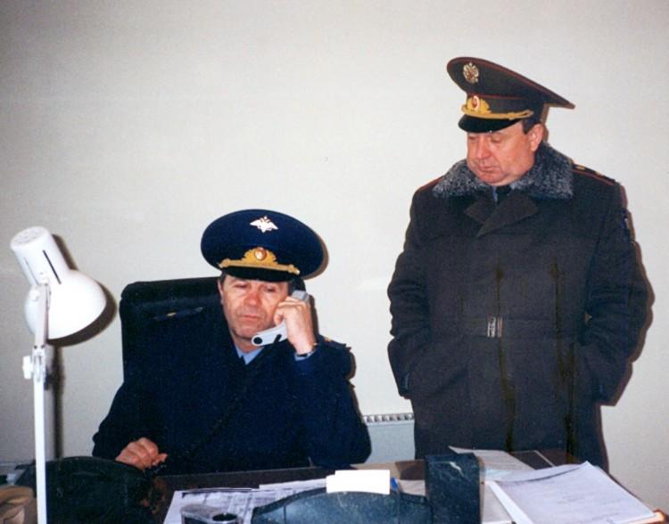 с генералом П.Черных