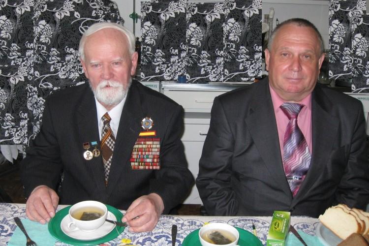 Н.Ф.Шуклин и В.П. Ветров в ЦВЭО