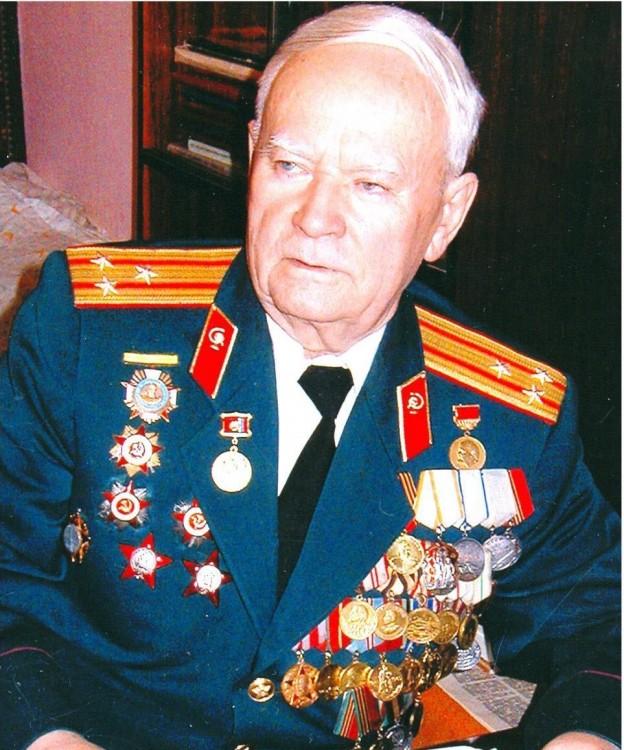 полковник ветеринарной службы н.Ф.Шуклин