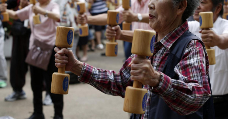 Японские старики
