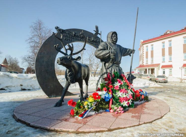 Памятник оленным батальонам