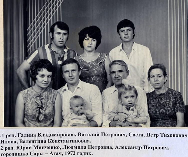 семья Ветровых