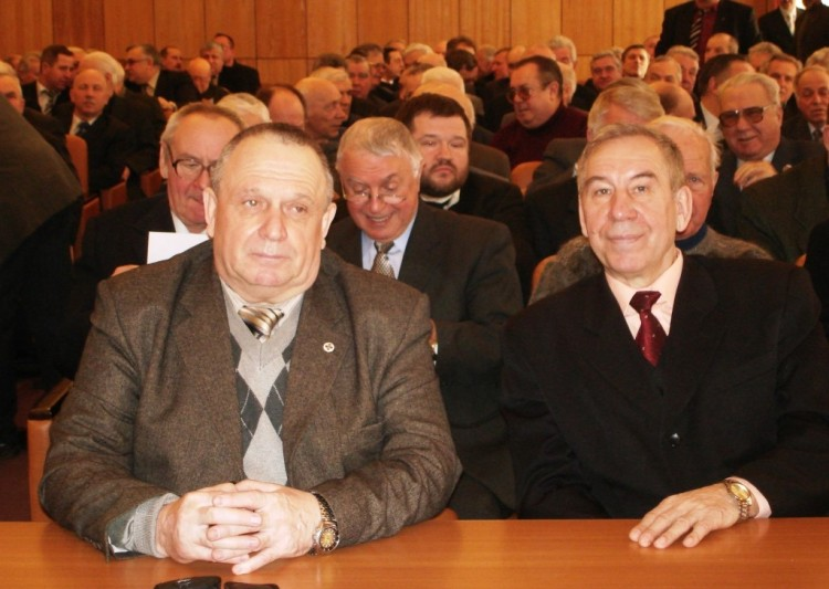 В.П.Ветров на конференции в 25 НИИ МО