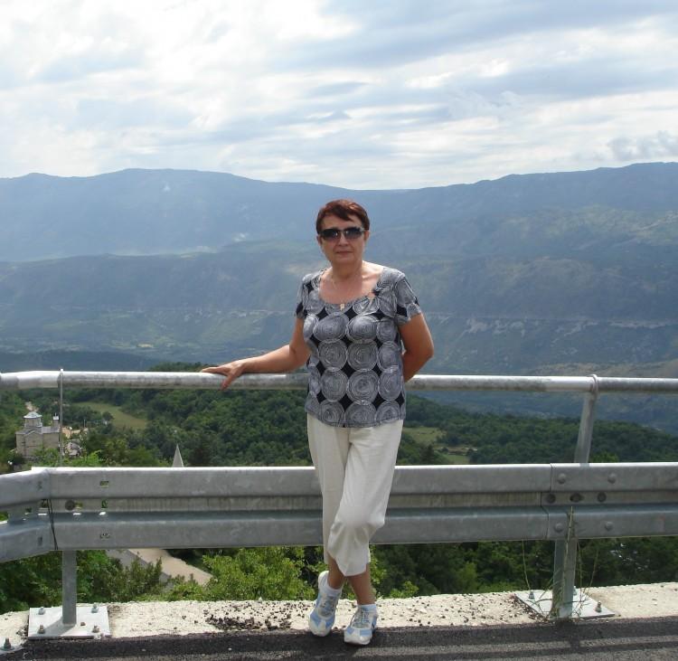 Галина в Монтенегро 2010г.