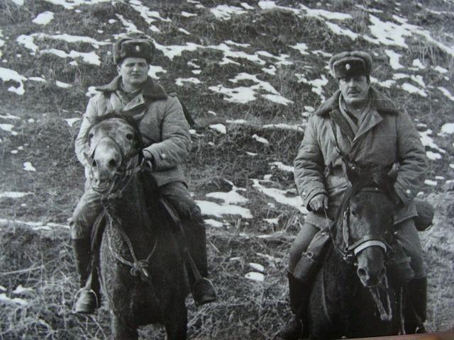 отдельная вьючно-транспортная рота СаВО. Виктор Дырда