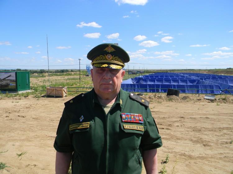 генерал-майор ветеринарной службы запаса В.П. Ветров в ЮВО 2017г