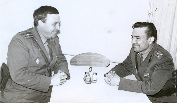 Виталий Ветров и Николай Иванович Ясько