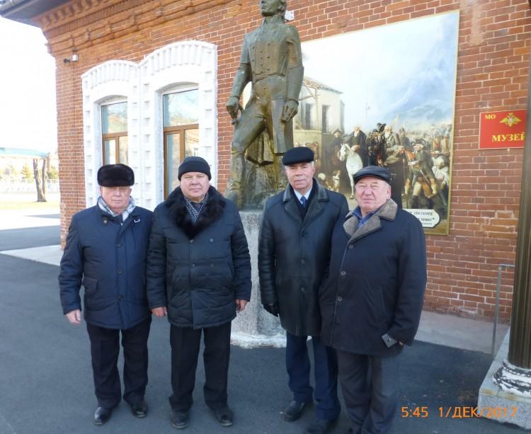 Ветераны Тыла ВС в музее УссСВУ
