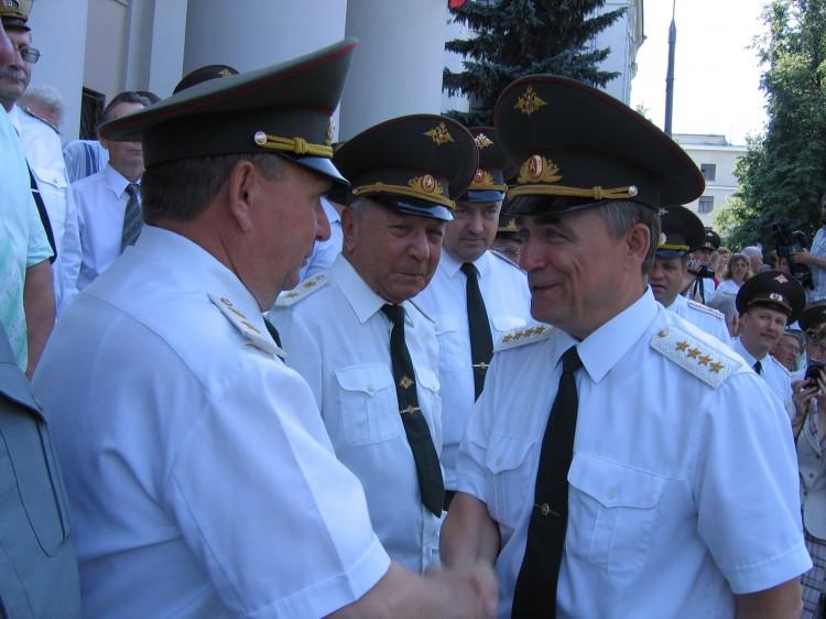 встреча с Заместителем МО РФ генералом армии В.И.Исаковым