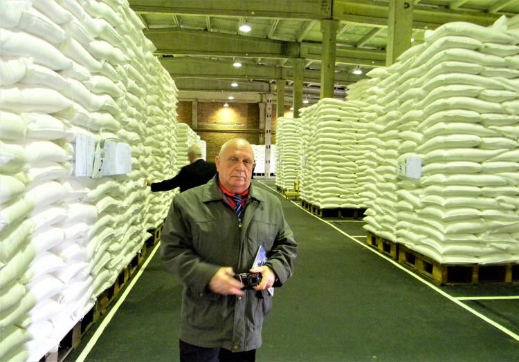 контроль качества продовольствия генерал-майор ветеринарной службы Виталий Ветров на базе