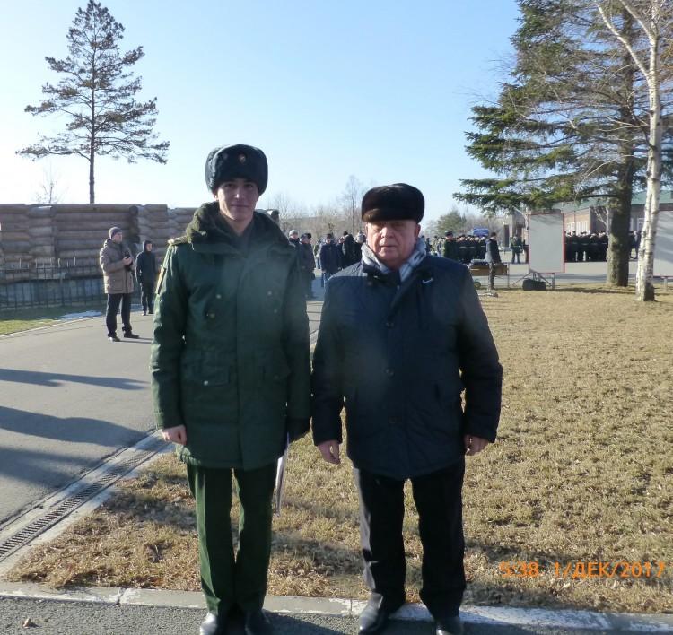 генерал В.П. Ветров в Уссурийском гарнизоне
