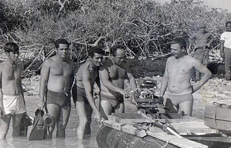 боевые пловцы, большой Багамский пролив