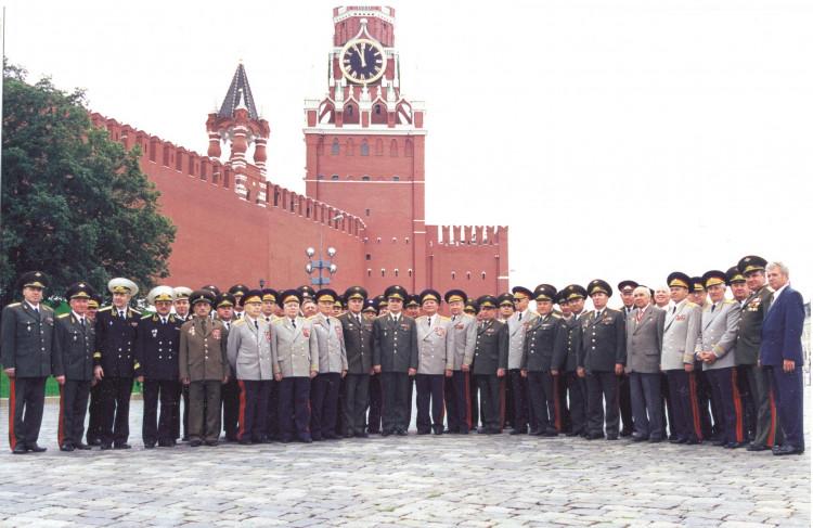офицеры и генералы Тыла Вооруженных сил Российской Федерации. 2001 г