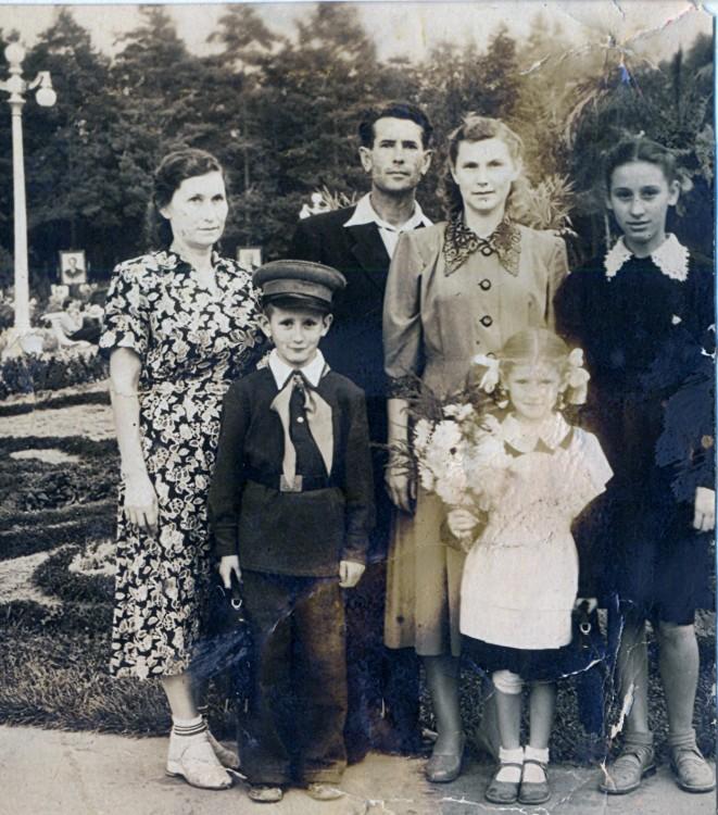 Родственники Щербаковы и Старковы
